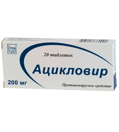 Acyclovir tablety
